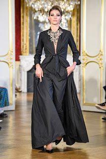 Baroqco at Couture Fall 2019 - Runway Photos Fashion News, Fashion Show, Fashion Events, Raw Color, Royal Colors, Abaya Fashion, Haute Couture Fashion, School Fashion, Fashion Photography