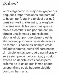 pau y abb 🍕 Bff Quotes, Best Friend Quotes, True Quotes, Husband Quotes, Love Phrases, Bff Gifts, Sad Love, Best Friends Forever, Spanish Quotes