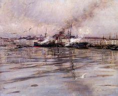 Giovanni Boldini — View of Venice, 1895, Giovanni BoldiniMedium: oil,...