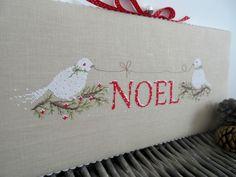 Oiseaux Noel - Une croix le temps d'un thé