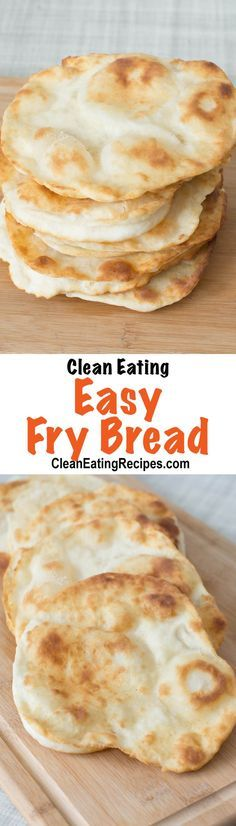 This Clean Eating navajo taco fry bread recipe is super easy because it doesn't have to rise and pulls together in a few minutes. You can even get away with only putting a little oil in the bottom of a pan. My kids totally love this stuff!