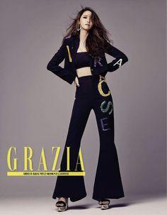 SNSD : Yoona * 윤아 * : Grazia Korea Magazine September Issue 2015 In France
