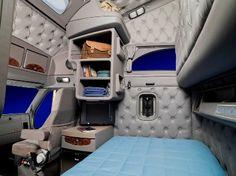 semi truck living area - Google Search