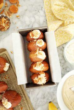 Banana Cream Pie Doughnuts…
