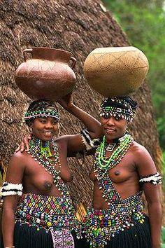 Girl Tits South Nude Zulu Africa