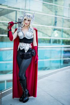 Thor - San Diego Comic Con 2014 Day 2 (Erik Estrada) #cosplay