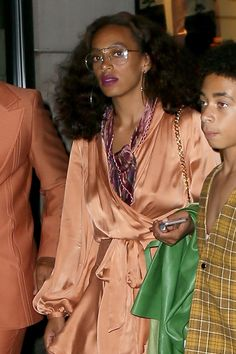 WHO: Solange Knowles    WHERE: On the street, New York City   WHEN: September 5, 2016