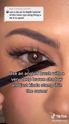 Makeup Tutorial Eyeliner, Easy Makeup Tutorial, Mauve Makeup, Skin Makeup, Maquillage On Fleek, Brown Makeup Looks, Makeup Hacks Videos, Casual Makeup, Eye Makeup Designs