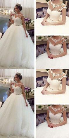 Wedding Dresses: Whiteivory Wedding Dress Bridal Gown Custom Size 6 8 10 12 14 16 18 BUY IT NOW ONLY: $169.0