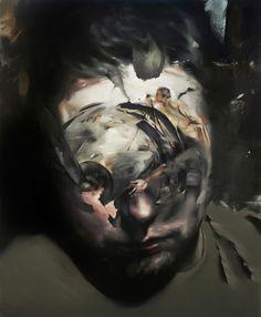 Flavia Maria Pitis #painting #portrait