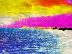 Beach Abstract Art Print Lake Photography Water by ALewPhotography, $6.00