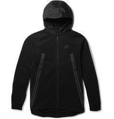 NikeTech Cotton-Jersey Hoodie