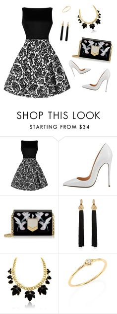 """Untitled #504"" by elma-alibasic on Polyvore featuring Jimmy Choo, Yves Saint Laurent and Sydney Evan"