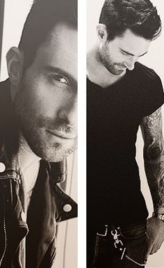 Adam Levine is such a sexy beast.