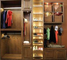LED Closet Upgrade Custom Closet Design, Wardrobe Design, Closet Designs,  Custom Closets,