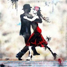 Street Art #Tango #Ballroom