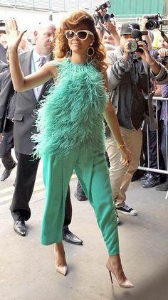 Image detail for -Rihanna Antonio Berardi London Rebl Fleur