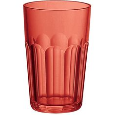 Guzzini Happy Hour Tall Tumbler - Red ($4.98) ❤ liked on Polyvore featuring home, kitchen & dining, drinkware, red, red tumbler, red glassware, water tumbler and colored glassware