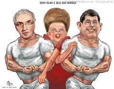 Igor Clayton Cardoso: DILMA E SEUS DOIS MARIDOS...