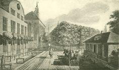 Chodowiecki, An der Danziger Torwache (Danziger Skizzen, 1773).
