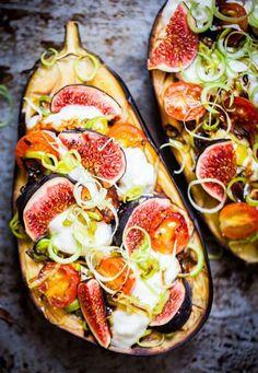 Grillad aubergine