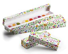 Fruits Gelifier here's another beautiful box #packaging and jellies inside. Yumm PD
