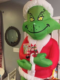Grinch & Max Inflatable 8' FT... | grinch christmas ...