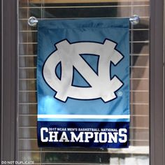 North Carolina Tar Heels National Basketball Champs Garden Flag