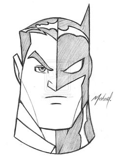 Drawing Superhero Quick and Easy Sketches - Yahoo Search Results Yahoo Image Search Results - Batman Drawing Easy, Cartoon Drawings Of People, Drawing Cartoon Characters, Cartoon Sketches, Art Drawings Sketches, Character Drawing, Disney Drawings, Easy Drawings, Superhero Sketches