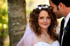 #bridalhair #curlyhair