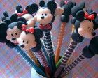 Ponteiras de lápis Mickey & Minnie