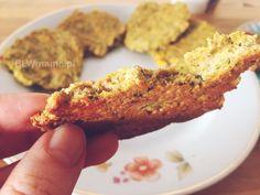 Placki cukiniowo – marchewkowe z pieca. BLW – BLW od kuchni. Rozwój dziecka przez jedzenie.
