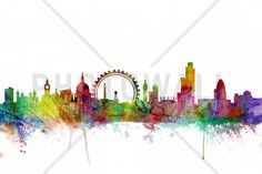 London Skyline - Wall Mural & Photo Wallpaper - Photowall