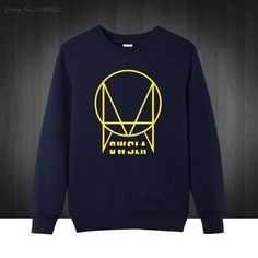 fe264001f5 Owsla Skrillex Logo Printed Mens Men Sweatshirts Fashion 2017 New Pullover  O Neck Cotton Male Boys Hoodies