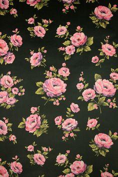 papier peint vintage 60s Floral wallpaper design – 1