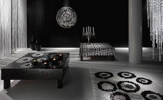 Andretto © Design - Linea Arredo - Murano glass - Small table and carpet of mosaic