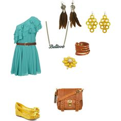 Happy, created by calledbylove on Polyvore