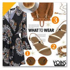 """""""Yoins.com"""" by dressedbyrose ❤ liked on Polyvore featuring The Row, Lizzy James, Chan Luu, yoins, yoinscollection and loveyoins"""