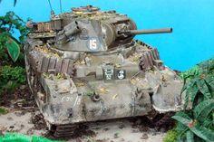 Australian Matilda on Tarakan Island by Stefan Bernet (Various Armored Fighting Vehicle, British Army, Borneo, Plastic Models, Matilda, Military Vehicles, Ww2, Island, Armors