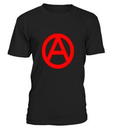 # Anarchy Symbol T-Shirt Red Print .  Anarchy Symbol T-ShirtSimple Large Front Print of Red Anarchy Symbol.High Quality Print form 300 DPI source image to make sure this is your next favorite anarchy t-shirt.COLOR CHOICE:Scroll down for thumnails of all products with this design. Choose the  color of the selected product below the thumbs. Usually roundnecks and  hoodies are available in the largest amount of different colors...Check out our store for more t-shirts for anarchists.