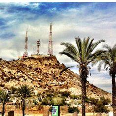 Cerro de la Campana Hermosillo Sonora MEXICO donde Jamrs se declaro