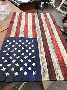 Red White & Blue Concealment Flag by ProtectYOURshelves on Etsy