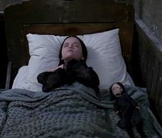 Fun fact: the way Wednesday slept was not scripted. It was ad-libbed and soon became iconic on its own