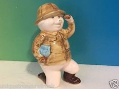 PIGGIES DANBURY MINT PIG FIGURINE LIMITED PORCELAIN 25 MADE GAME HUNTER SAFARI