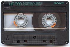 HF-S90 Sony Cassette