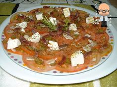 Carpaccio, Queso Fresco, Canapes, Thai Red Curry, Food To Make, Appetizers, Snacks, Chicken, Ethnic Recipes