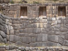 """Pax on both houses: Incan Stone Work. No Mortar. No """"Knifable"""" Clefts. Every Stone Cut Differently. Ancient Mysteries, Ancient Ruins, Ancient Egypt, Ancient History, Archaeological Discoveries, Dry Stone, Mystery Of History, Inca, Ancient Architecture"""