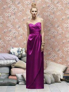 Lela Rose Bridesmaids Style LX169 in Persian Plum #PatsysBridal #bridesmaid #wedding www.patsysbridal.com