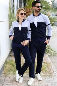 Matching Couple Outfits, Matching Couples, Outfits For Teens, Casual Outfits, Fashion Outfits, Girls Tracksuit, Winter Outfits, Summer Outfits, Baby Dress Patterns