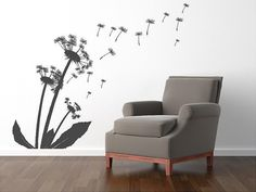 Blowing dandelions  Vinyl Lettering decal by itswritteninvinyl, $58.00